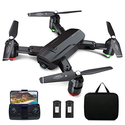 Dragon Touch GPS Drohne mit Kamera 1080P HD haltbar, RC Quadrocopter mit WiFi FPV Live Übertragung/Tap...