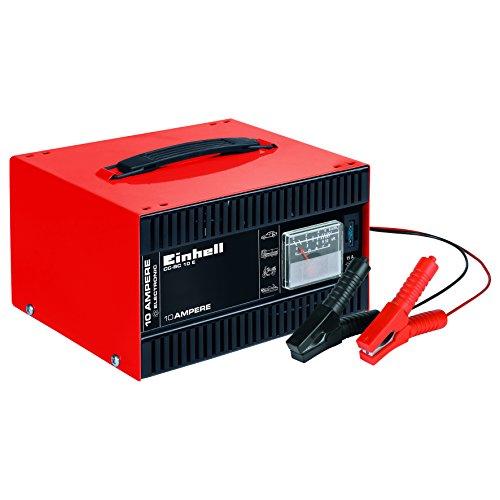 Einhell Batterie-Ladegerät CC-BC 10 E (12 V, für Batterien von 5-200 Ah, Ladeelektronik,...