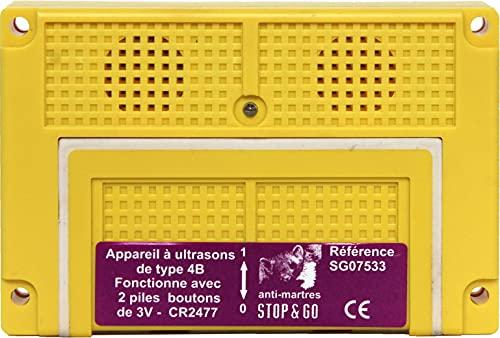 STOP&GO 07533 Schaub Ultraschallg mit 2 Knopfz-Batt. +
