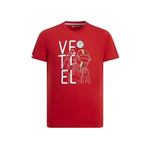 Scuderia Ferrari Sebastian Vettel T-Shirt (M)