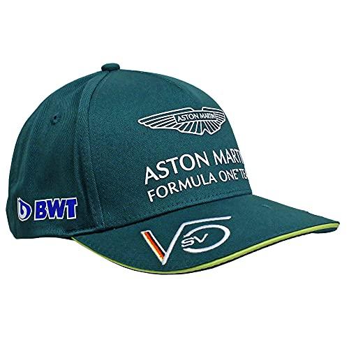 Aston Martin F1 Team Baseball Cap | Sebastian Vettel | Erwachsene | Grün | 2021