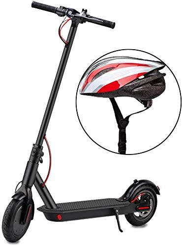 YONOS Elektroroller,350W Motor Erwachsener Elektro Scooter mit 8,5' Vollgummireifen LED Scheinwerfer &...