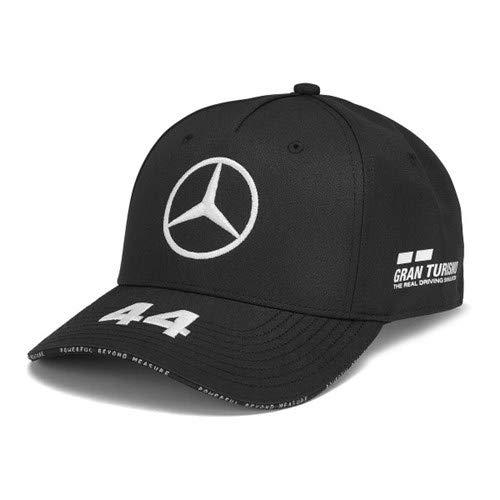 Mercedes-AMG Petronas Motorsport 2019 F1. Lewis Hamilton Kappe – Schwarz