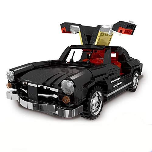 Bausteine Creator Auto 300 SL Modell mit beweglichen Flügeltüren, Konstruktionsspielzeug mit 825...