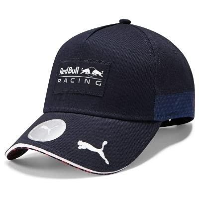 Red Bull Racing Official Teamline Snapback Cap, Unisex One Size - Original Merchandise