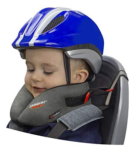 SANDINI SleepFix Kids Bike – Kinder Schlafkissen/Nackenkissen mit Stützfunktion, Temperaturausgleich...