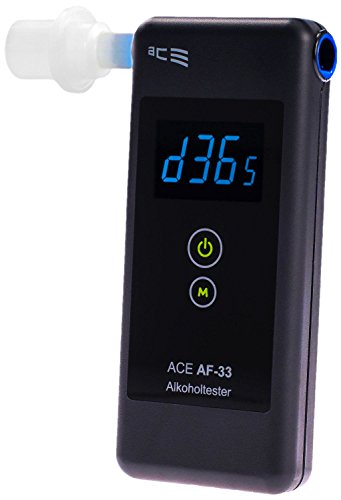 ACE Alkoholtester AF-33, TU-Wien-Messgenauigkeit: 97,9%