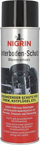 Nigrin 74034 Unterbodenschutz-Spray, 500 ml, haftfähig, Korrosionsschutz für den Unterboden von Autos,...