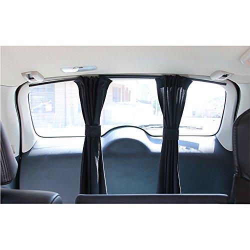 kuaetily Auto-Sonnenschutz -Vorhänge Auto Schatten Vorhang Sonnenblenden für Kinder die Heckscheibe und...