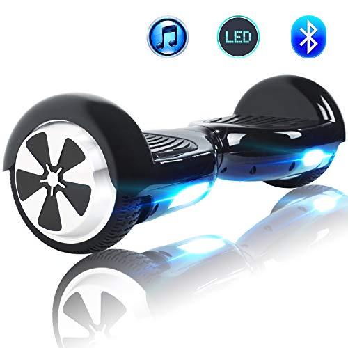 Windgoo Hoverboard, 6.5 Zoll Self Balance Scooter mit LED Lights Elektro Scooter E-Skateboard