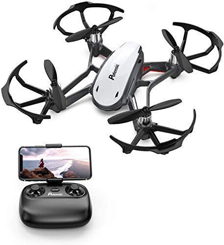 Potensic FPV Mini Drohne mit Live-Video-Kamera, RC Helikopter FPV Quadrocopter ferngesteuert mit app,...