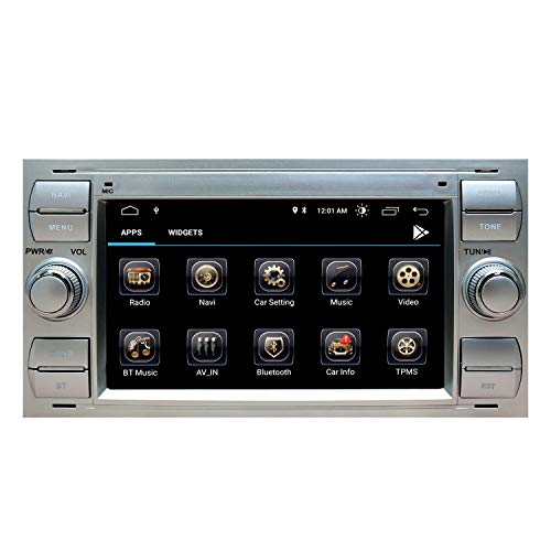 Autoradio Stereo Radio Ford Focus Mondeo Kuga C-Max S-Max Kuga Galaxy mit Android 10.0 Doppel 2 Din Sat...