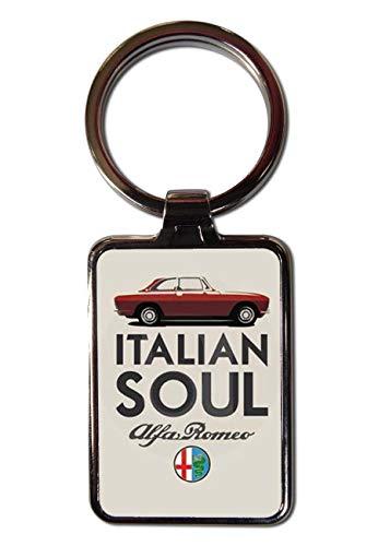 Auto Schlüsselanhänger Alfa Romeo Vintage