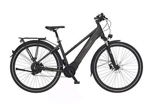 FISCHER Damen - Trekking E-Bike VIATOR 6.0i, Elektrofahrrad, grau matt, 28 Zoll, RH 44, Brose Drive S...