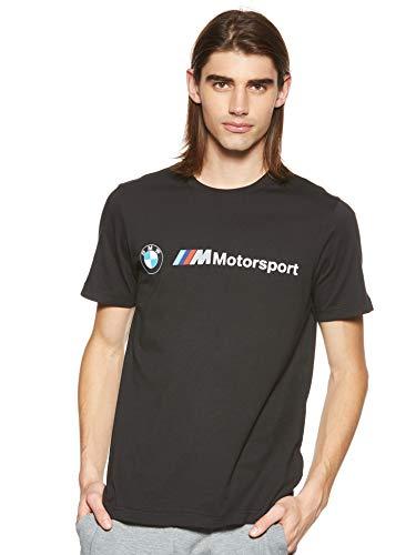 PUMA Mens 595369-01_M T-Shirt, Black, M
