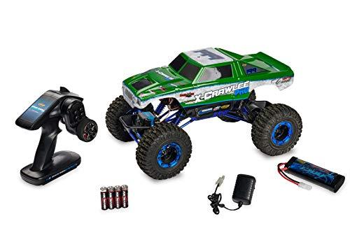 Carson 500404068 - 1:10 X-Crawlee 4WD 100% RTR 2,4 GHz, grün