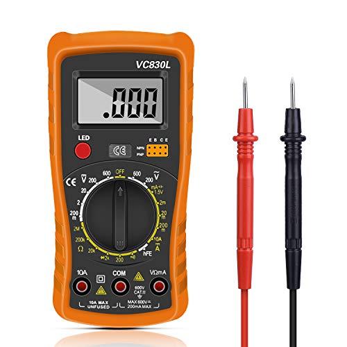 Digital Multimeter, Multimeter Messgeräte Digitales Voltmeter Amperemeter Ohmmeter, Multimeter Voltmeter...