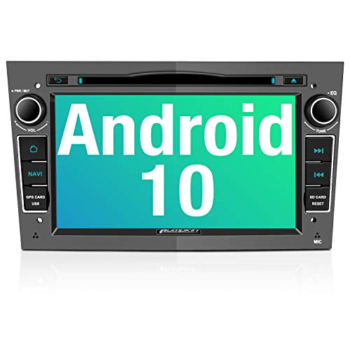 PUMPKIN Android 10 Autoradio für Opel Radio mit Navi / DVD Player Unterstützt Bluetooth DAB+ WiFi 4G...