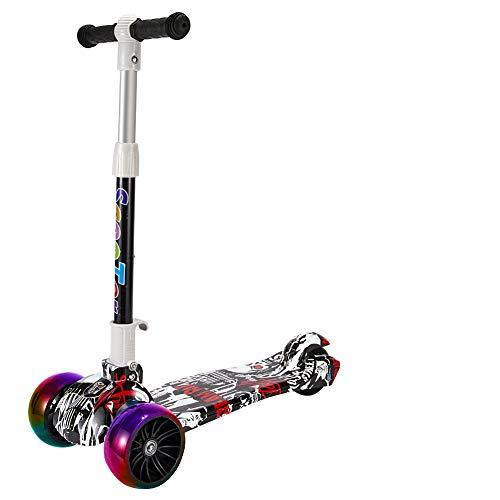 Youfen Kinder Roller Scooter - Kinderscooter für Mädchen und Jungen von 3 bis 8 Jahren,Premium...