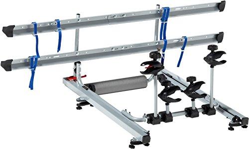 FISCHER 18092 Dachlift Fahrradträger für 2 Fahrräder, Dachfahrradträger fürs Autodach, TÜV/GS...