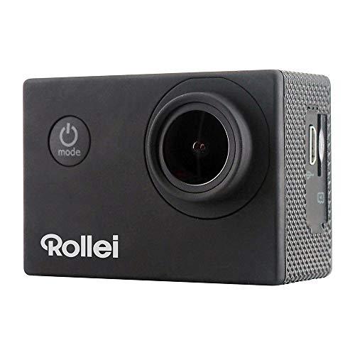 Rollei Actioncam 4S Plus - WiFi Action-Cam mit 4K Video-Auflösung, Wasserdichter Action Camcorder mit...