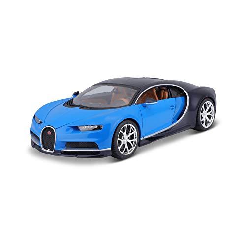 Bauer Spielwaren 18-11040 Bugatti Chiron Modellauto, Blau