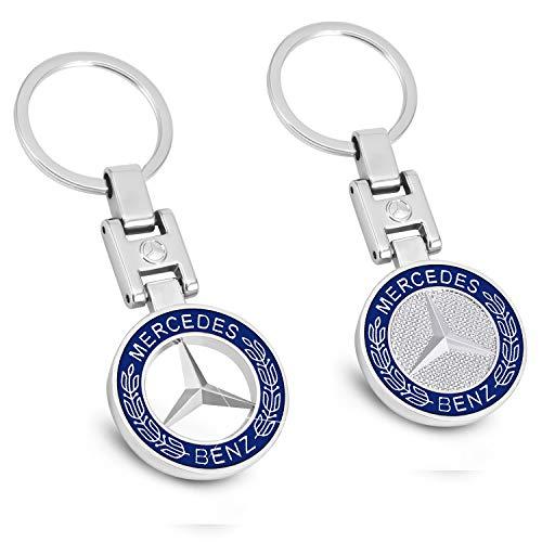 Mercedes-Benz-Schlüsselanhänger 3D Metall Emblem