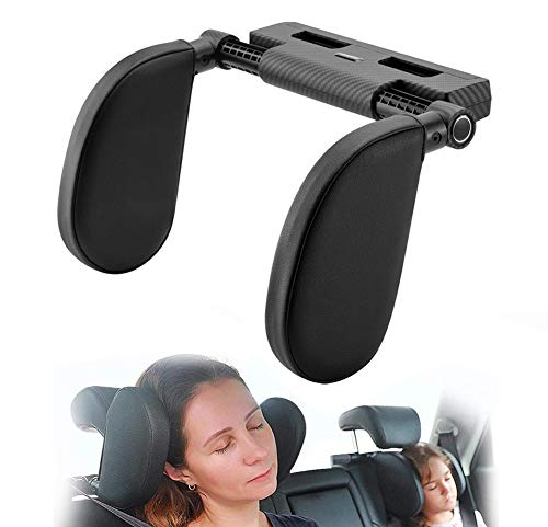 Hopeas Auto Kopfstütze für Kinder Erwachsene, Kissen Nackenstütze Autositz Verstellbar...