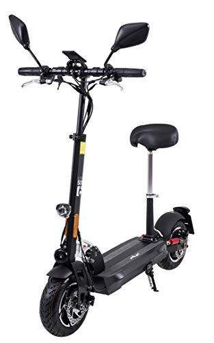 eFlux Lite Six Elektroroller Scooter - mit Straßenzulassung - bis 40 Km/h - 1000 Watt Motor - LED...