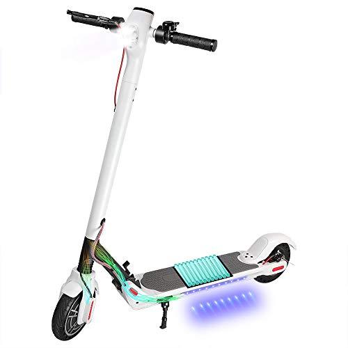 Kirin Elektroroller, ES2 Klappbar E-Scooter 25KM/H ElektroRoller 8,5 Zoll Reifen, LED-Display,...