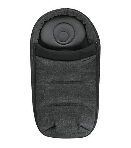Maxi-Cosi 1819710110 Baby Cocoon Fußsack, gemütlicher und warmer Fußsack, schwarz