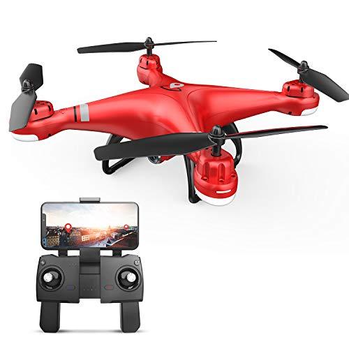 Eanling GPS Drohne HS110G mit 1080P HD Kamera,WiFi FPV Live Übertragung,RC Quadrocopter ferngesteuert...
