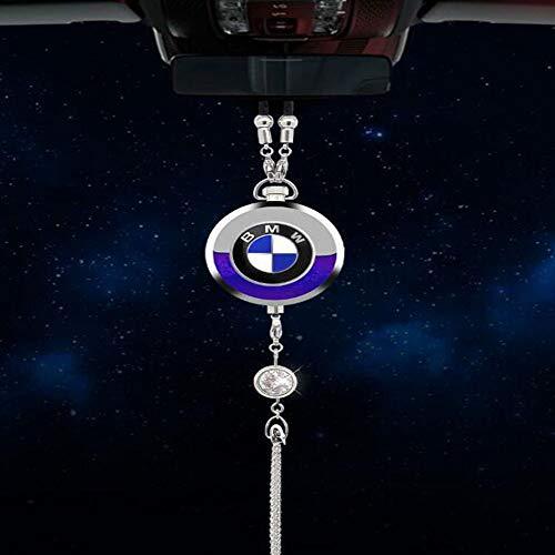 Fitracker Car Logo Parfüm Lufterfrischer Rückspiegel Parfüm Anhänger mit Geschenkbox