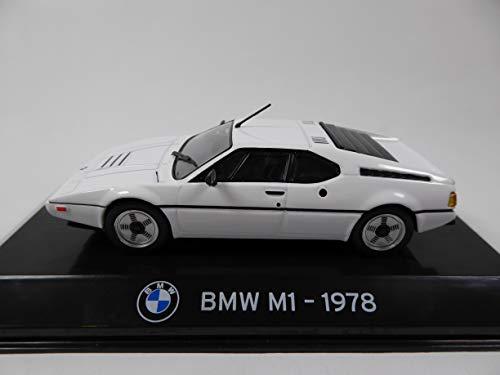 OPO 10 - Auto 1/43 Kollektion Supercars Kompatibel mit BMW M1 1978 (S75)