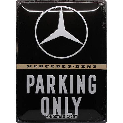 Nostalgic-Art Mercedes-Benz – Parking Only – Geschenk-Idee für Auto Accessoires Fans, Retro...