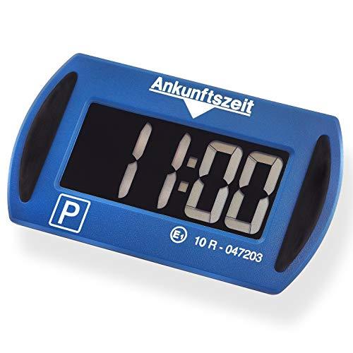 Needit Park Mini Blau elektronische Parkscheibe Digitale Parkuhr mit offizieller Zulassung des...