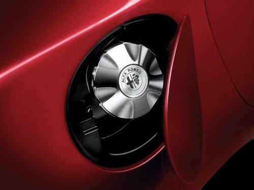 Original Alfa Romeo Giulietta Aluminium-Tankdeckel