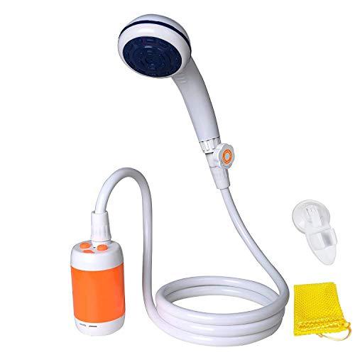Tragbare Dusche Elektrische Dusche Camping Dusche für Zuhause oder im Freien duschen Auto waschen Pet...