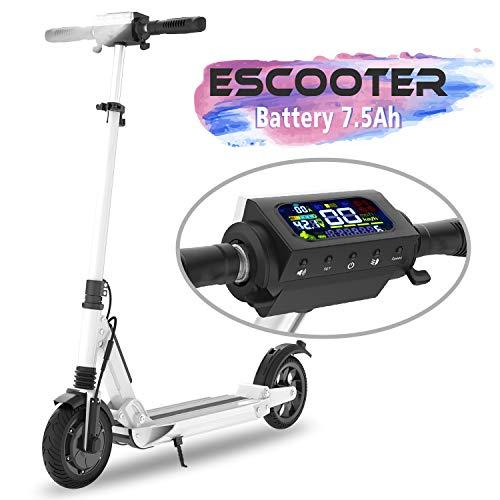 COLORWAY Elektro Scooter Elektroroller E-Scooter Faltbar City Roller Fahrzeug Klappbar 350 Watt Motor  ...