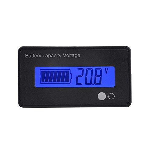 Blei-Säure Lithium-Ionen-Batterie Kapazität Meter Spannung Tester Batteriekapazität Voltmeter...
