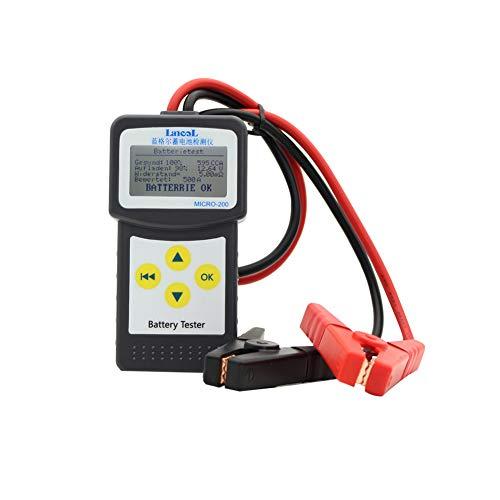 comfleep 12V Autobatterietester, Batteriemessgeraet Autobatterie 100-2000 CCA Analyzer direkt erkennen,...