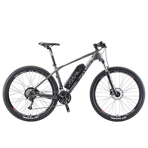 SKNIGHT Elektrofahrrad Mountainbike,Knight3 27,5' E-Mountainbike Carbon E-MTB 36V/13Ah Samsung Li-Ion...