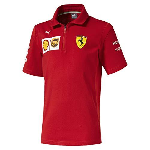 PUMA Ferrari Jungen Team Polo Rosso Corsa 128