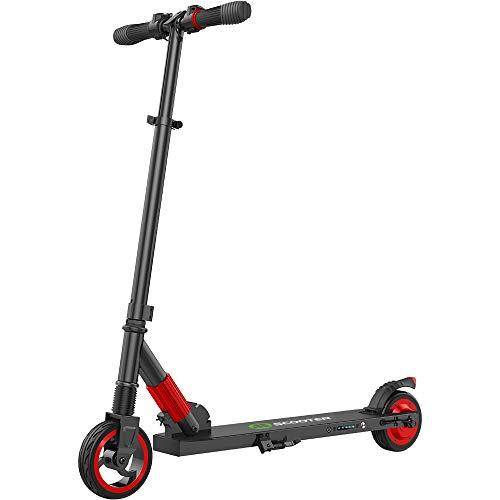 E Scooter Tret-Roller, CityRoller Elektrischer Roller Klappbar mit 12km Langstrecken Akku, bis zu 23km/h,...