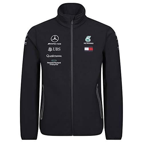 Mercedes-AMG Petronas Motorsport Men's 2019 F1™. Team-Softshell-Jacke Schwarz