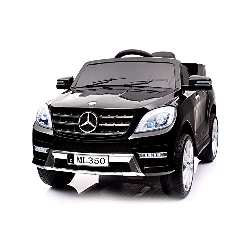 Kinderauto Mercedes - Benz ML350 Modell 2017/2018 Kinderauto - Vollausstattung ( schwarz )