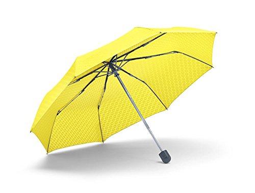 Original MINI Taschenschirm Schirm lemon gelb - Kollektion 2016/18