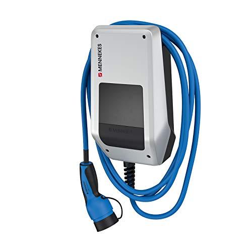 MENNEKES AMTRON 121001205 Compact 3,7/11 C2 – 11 kW private Garagen-Wallbox inkl. 5 m PKW-Ladekabel mit...