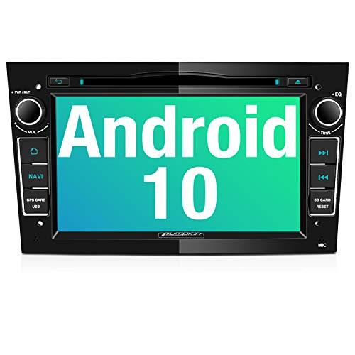 PUMPKIN Android 10 Autoradio für Opel Radio mit Navi CD DVD Player Unterstützt Bluetooth DAB+ WiFi 4G...