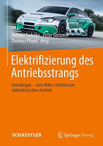 Elektrifizierung des Antriebsstrangs: Grundlagen - vom Mikro-Hybrid zum vollelektrischen Antrieb...